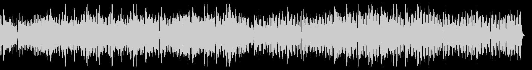 ウクレレと口笛のポジティブでハッピーな曲の未再生の波形