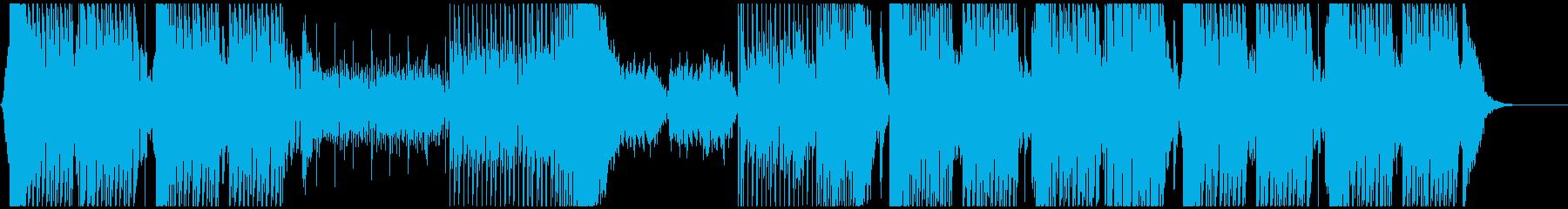 激しく切ないメロディの激しいEDMですの再生済みの波形