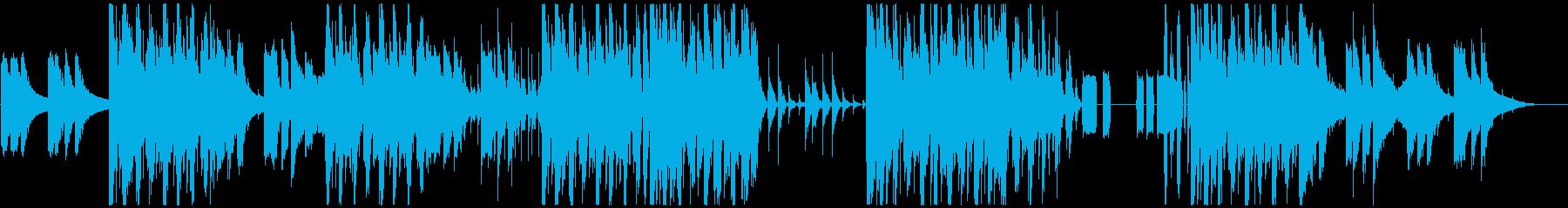 センセーショナル、ダンス系BGMの再生済みの波形