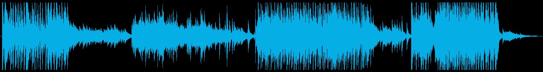 ゲームのPVの再生済みの波形