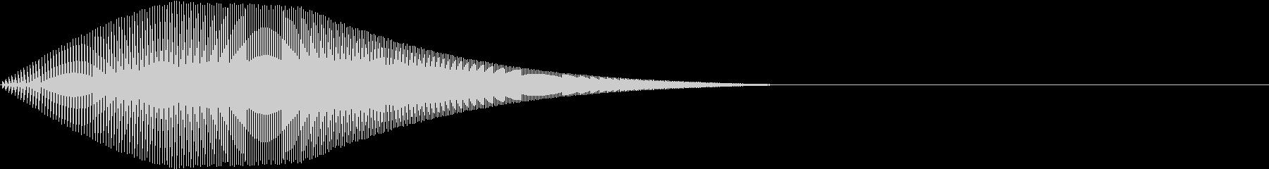 Mario マリオ風ジャンプ音 1の未再生の波形