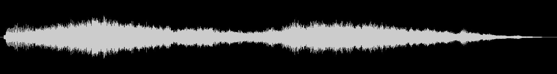 シネマチック・エモーショナルなジングルの未再生の波形