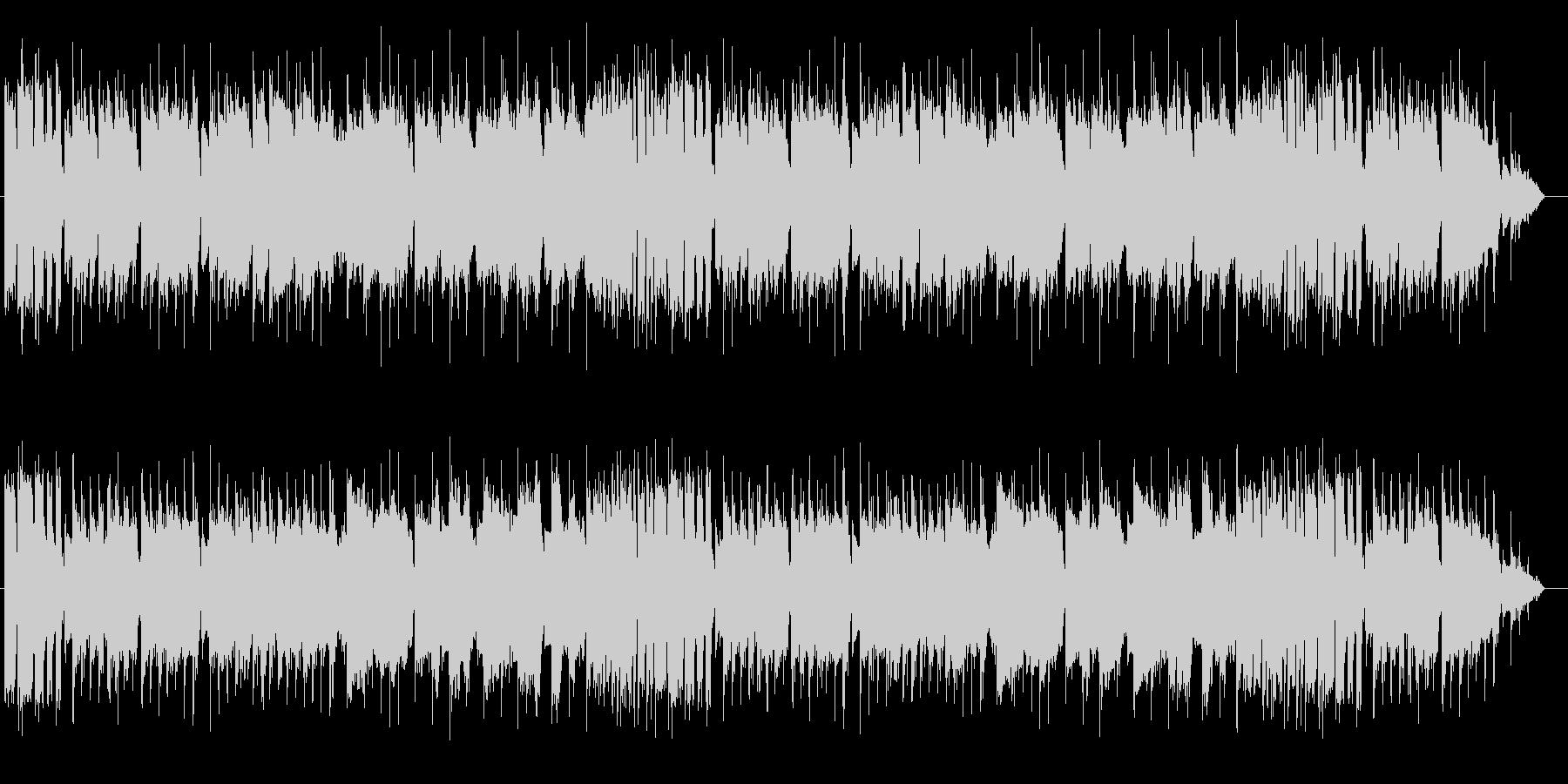 オープニング用のブラスファンファーレの未再生の波形