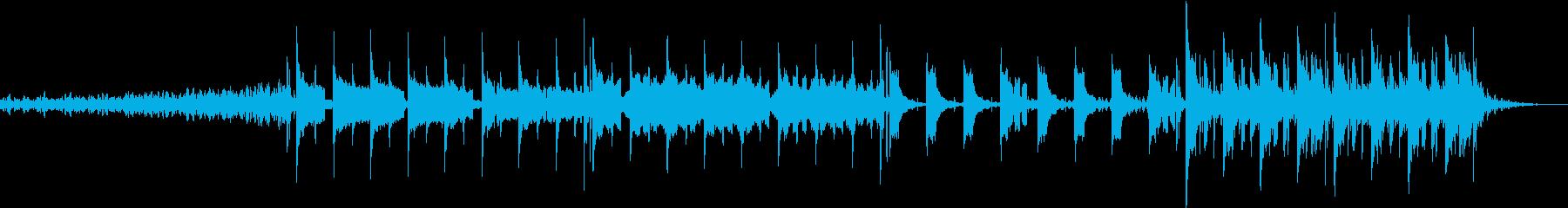 映画の1シーンに使われそうな曲の再生済みの波形