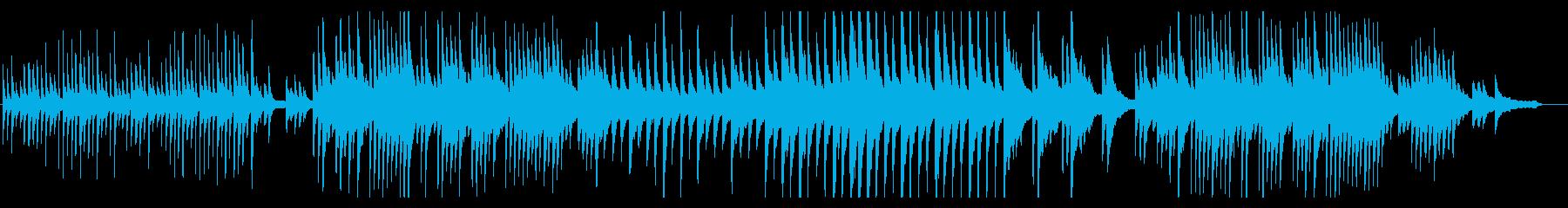 哀しい雰囲気のピアノソロの再生済みの波形