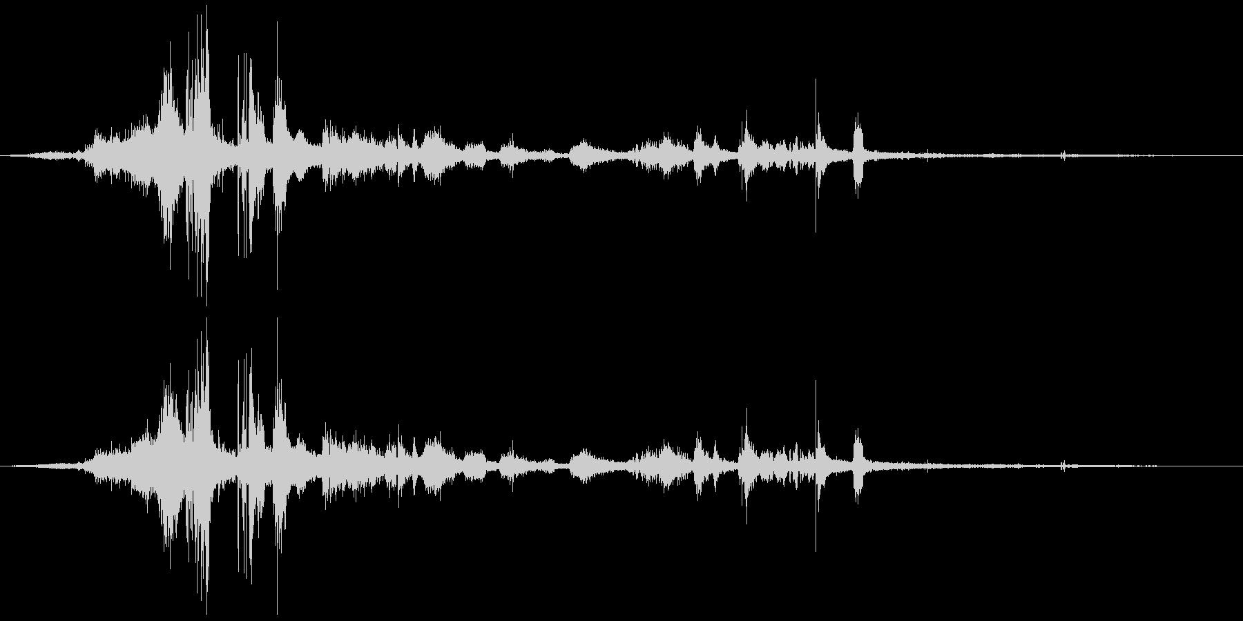 フライングキャメルマヌーバー、スポ...の未再生の波形