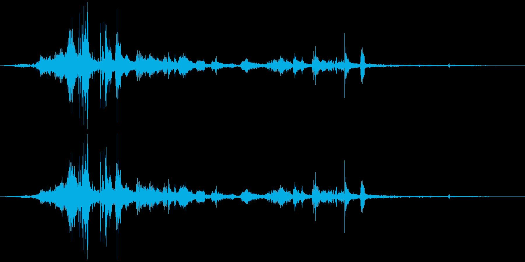 フライングキャメルマヌーバー、スポ...の再生済みの波形