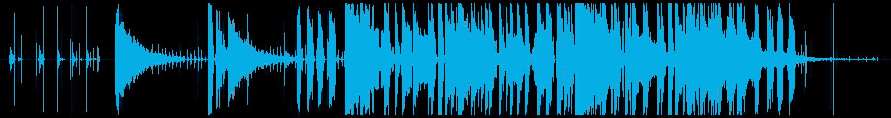 お洒落なエレクトロニックバラードの再生済みの波形