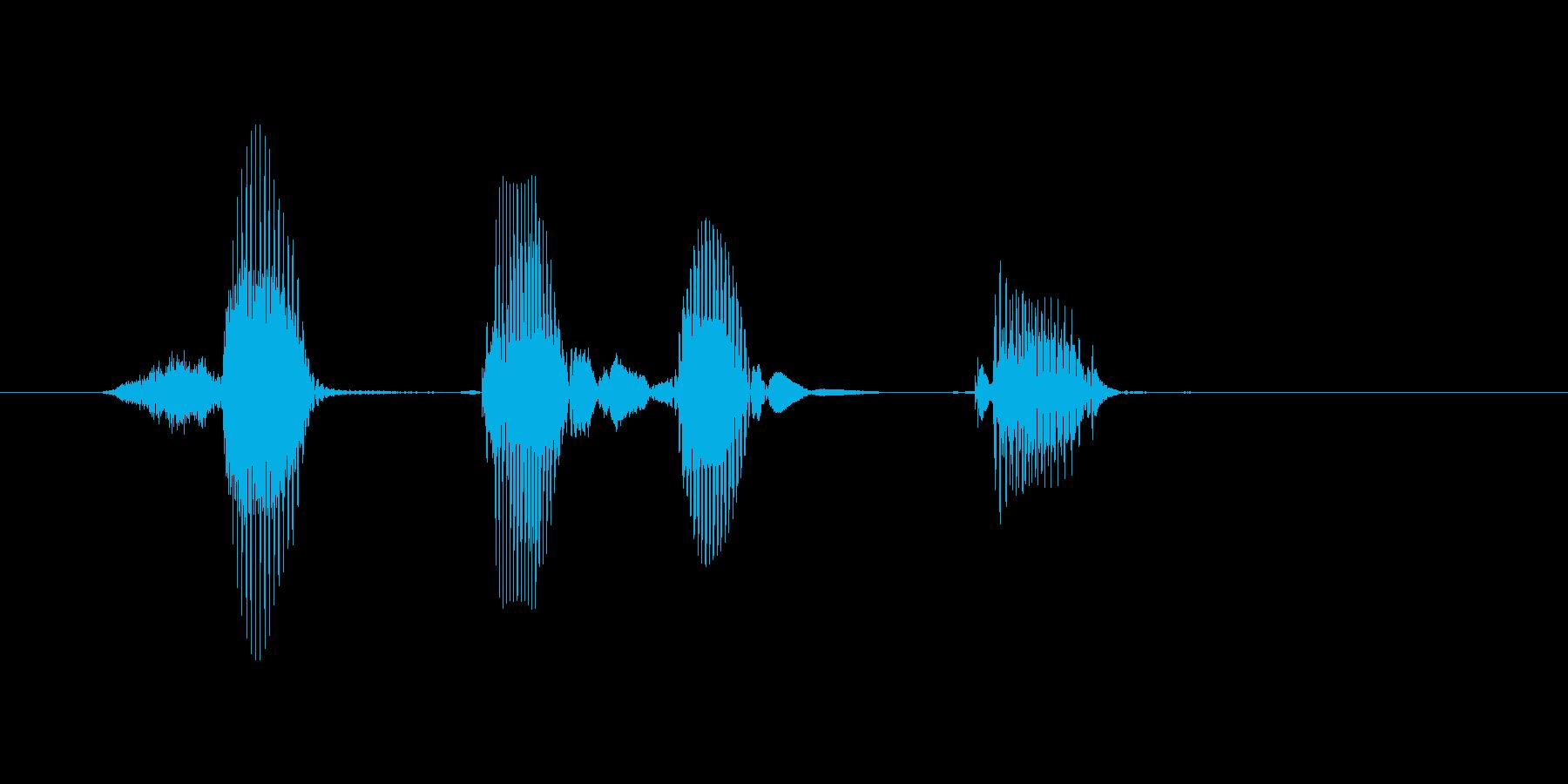ヒップホップの再生済みの波形