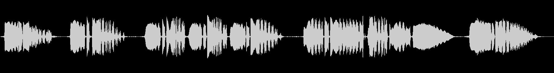 クラリネット:ラストポストアクセン...の未再生の波形