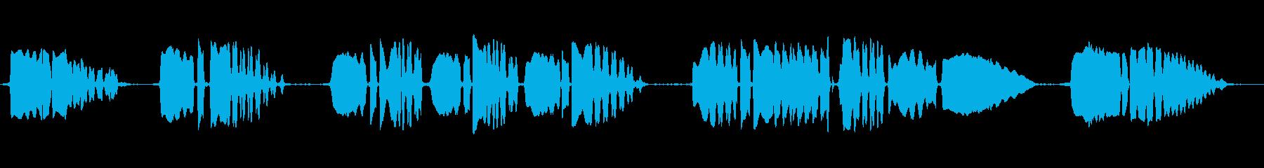 クラリネット:ラストポストアクセン...の再生済みの波形
