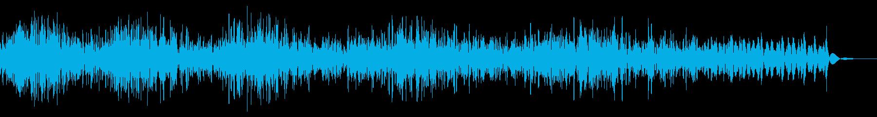 モーターヘビーパワーダウン、ディー...の再生済みの波形