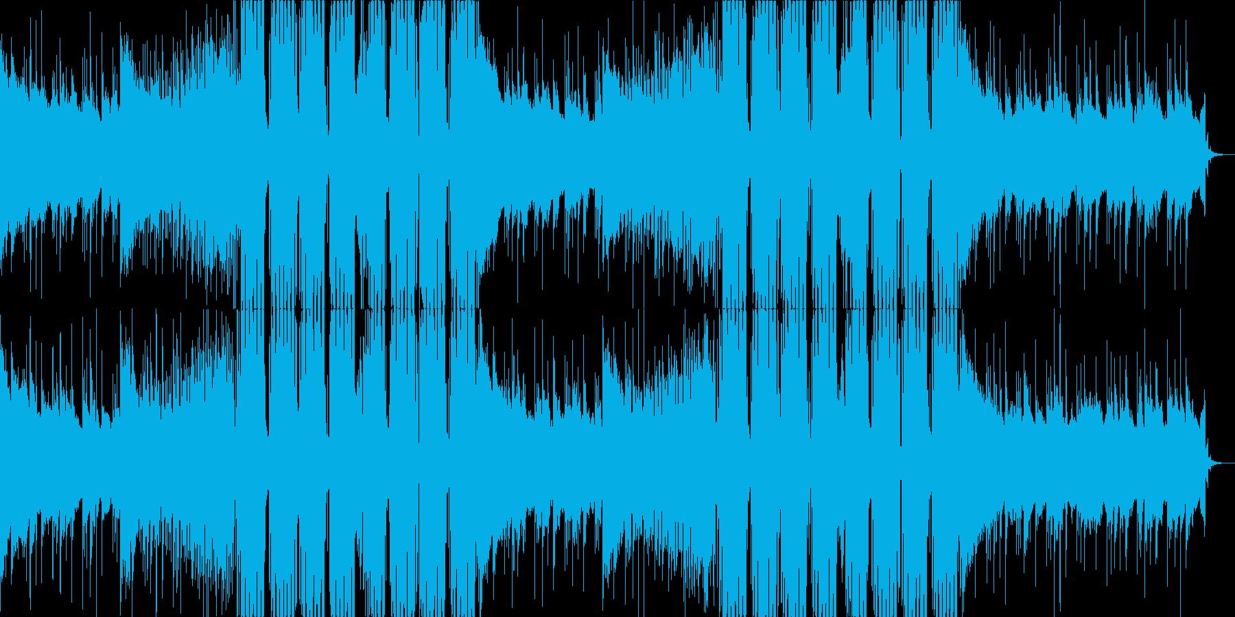 FutureBass3、洋楽、爽快、夏aの再生済みの波形