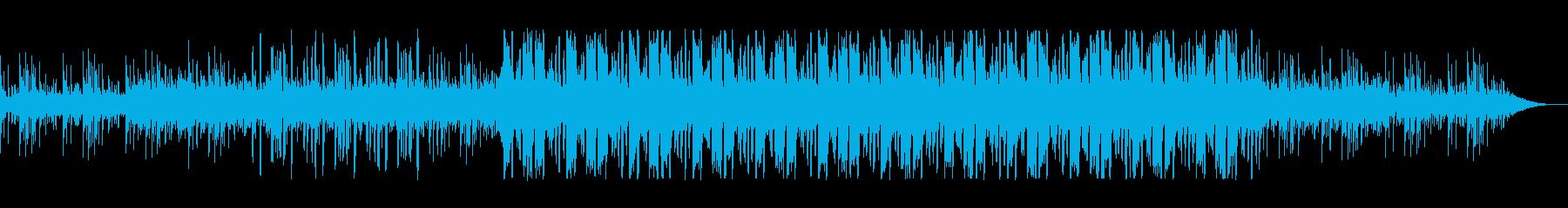 浮遊感のある、クールなエレクトロニカの再生済みの波形