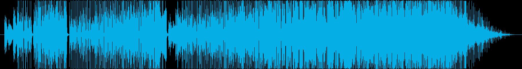 マンダリンポップでロマンスな曲の再生済みの波形