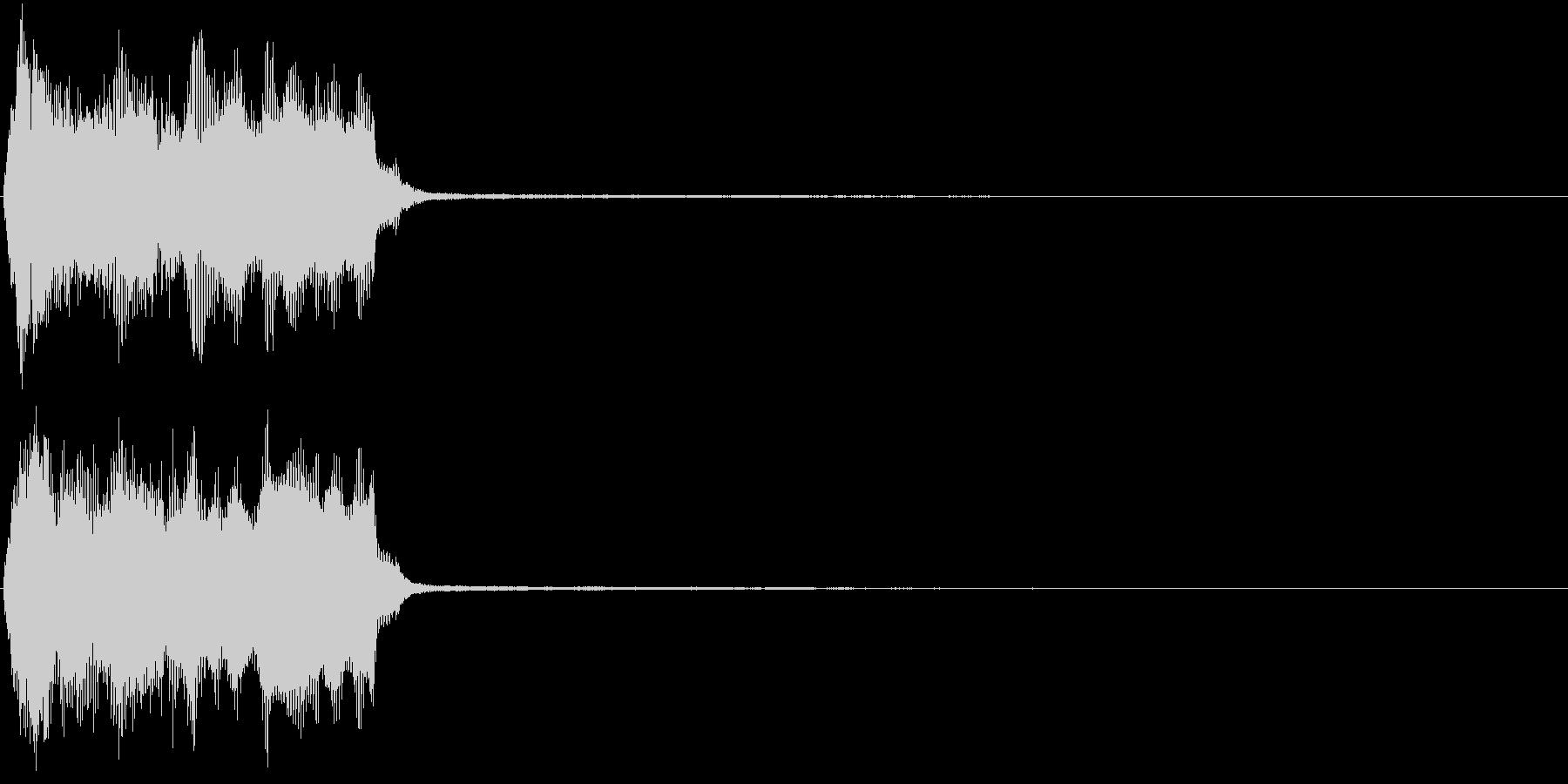 トランペット ファンファーレ 定番 8の未再生の波形