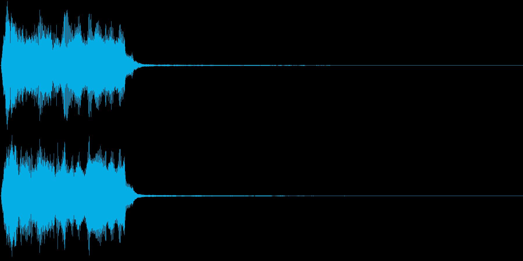 トランペット ファンファーレ 定番 8の再生済みの波形