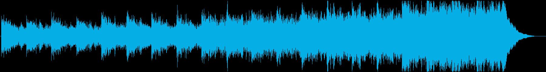 緊迫感のあるシネマティック曲 2-2の再生済みの波形