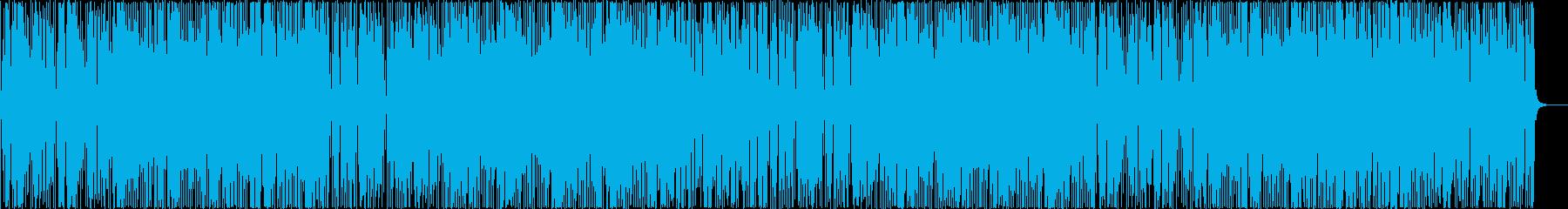 わくわくする楽しいキューバ音楽の再生済みの波形