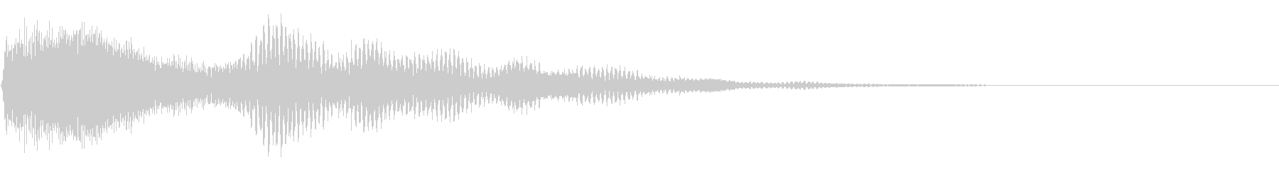 ボタン押下や決定音_ピロンッ!の未再生の波形