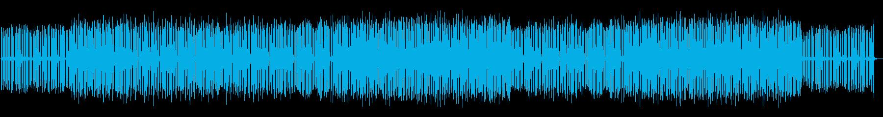 軽快で元気、前向きなハウス・エレクトロの再生済みの波形