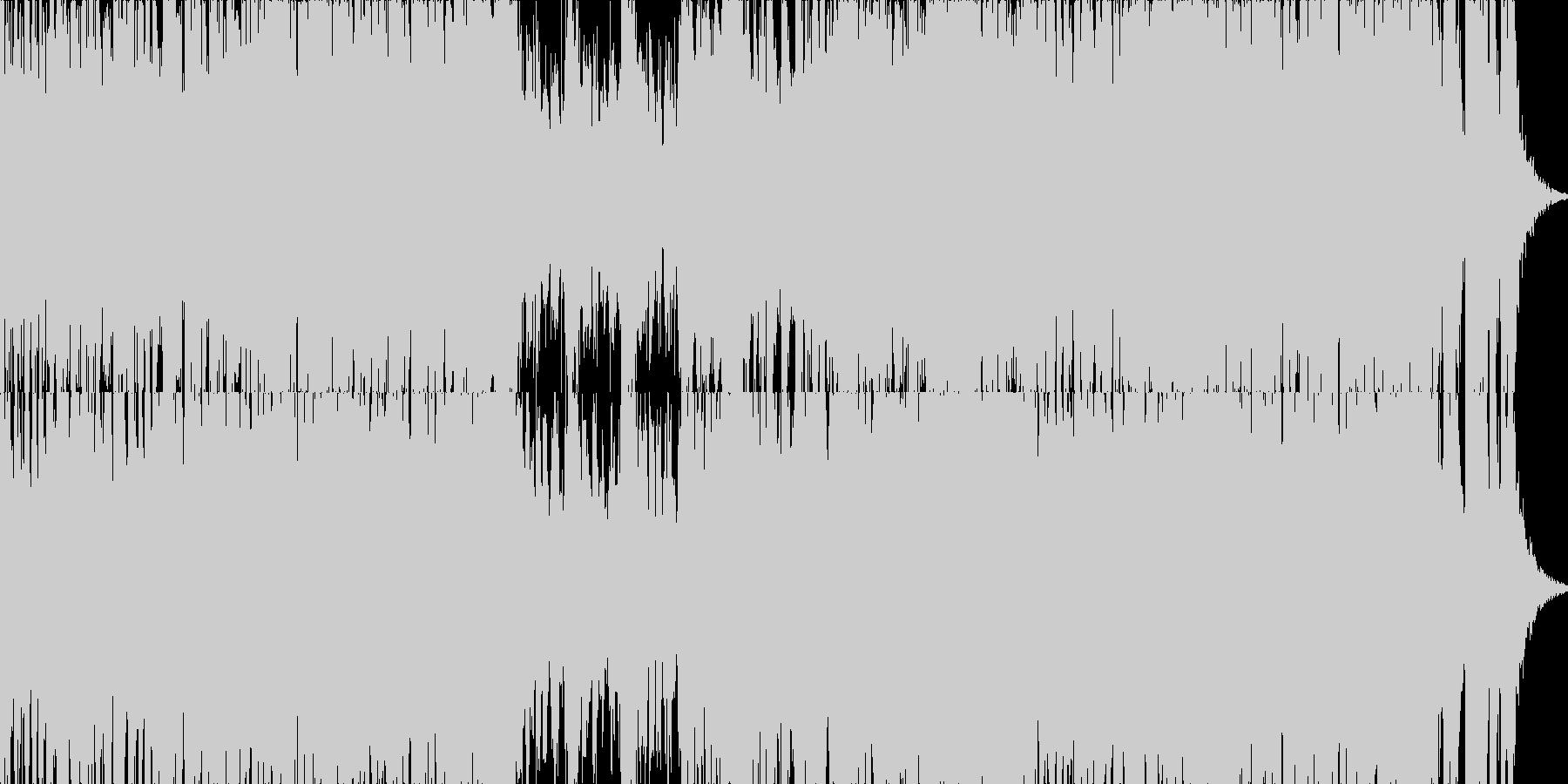 映画・ゲーム用バトルBGM4の未再生の波形