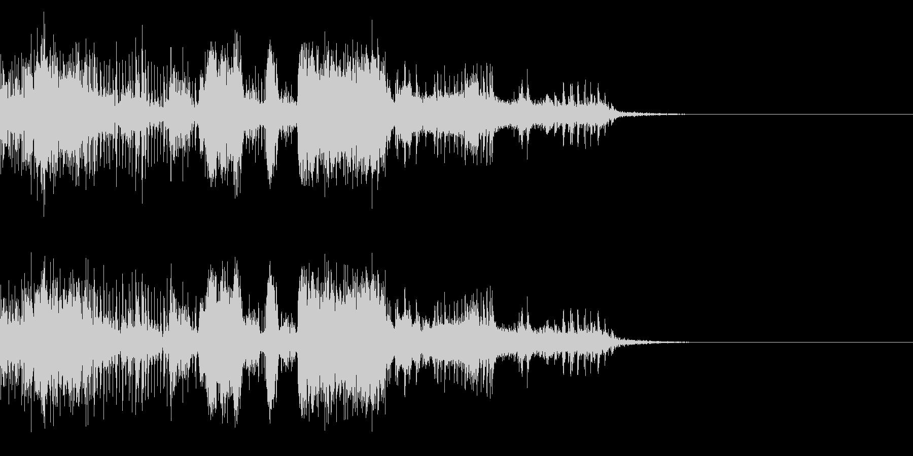 スパーク音-21の未再生の波形