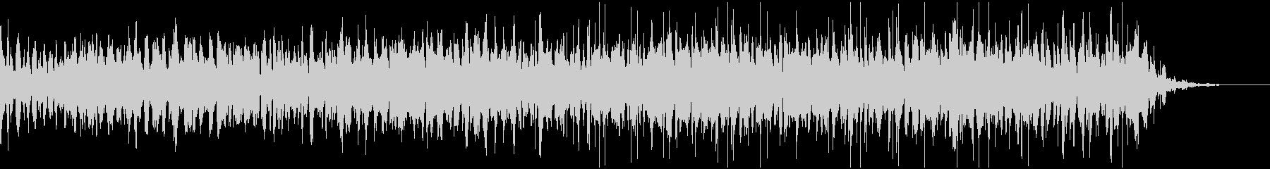 オルガンとピチカートを使用したインスト曲の未再生の波形