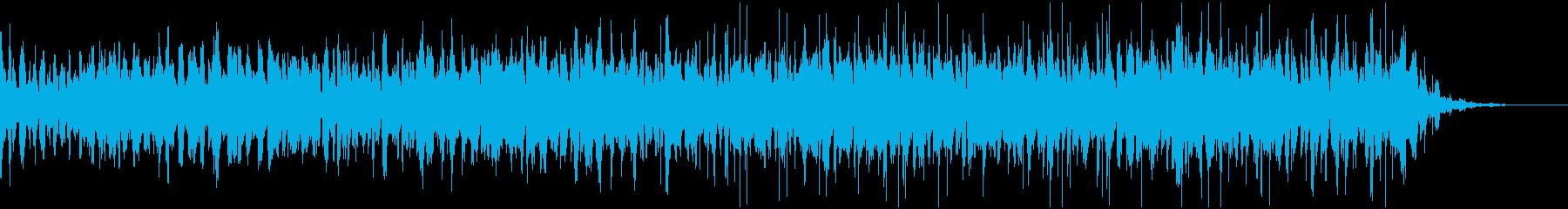 オルガンとピチカートを使用したインスト曲の再生済みの波形