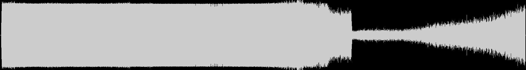 上昇 ホワイトノイズリフトオフ01の未再生の波形