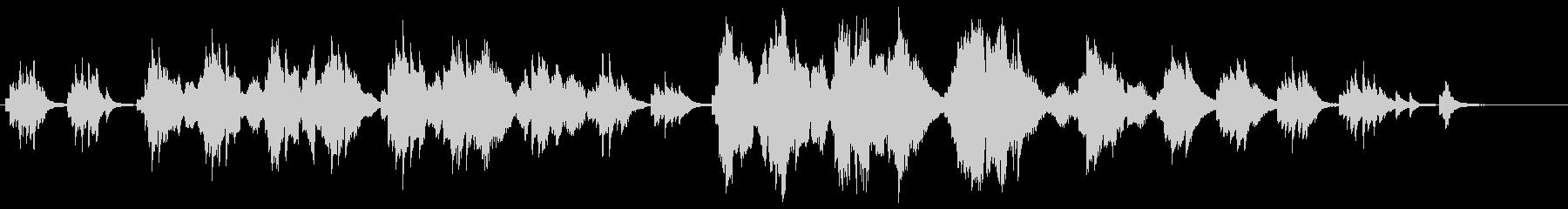 夏の星空・感動的なピアノ・バイオリン演奏の未再生の波形