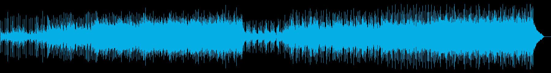 トイピアノの音が印象的な明るいポップスの再生済みの波形