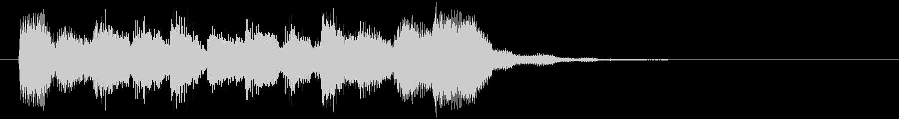 日常系アニメ的なアイキャッチ、リコーダーの未再生の波形