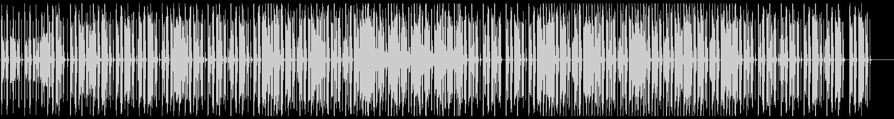 オシャレなチル系ビート 歌なしサックス無の未再生の波形