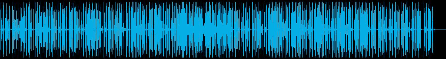 オシャレなチル系ビート 歌なしサックス無の再生済みの波形