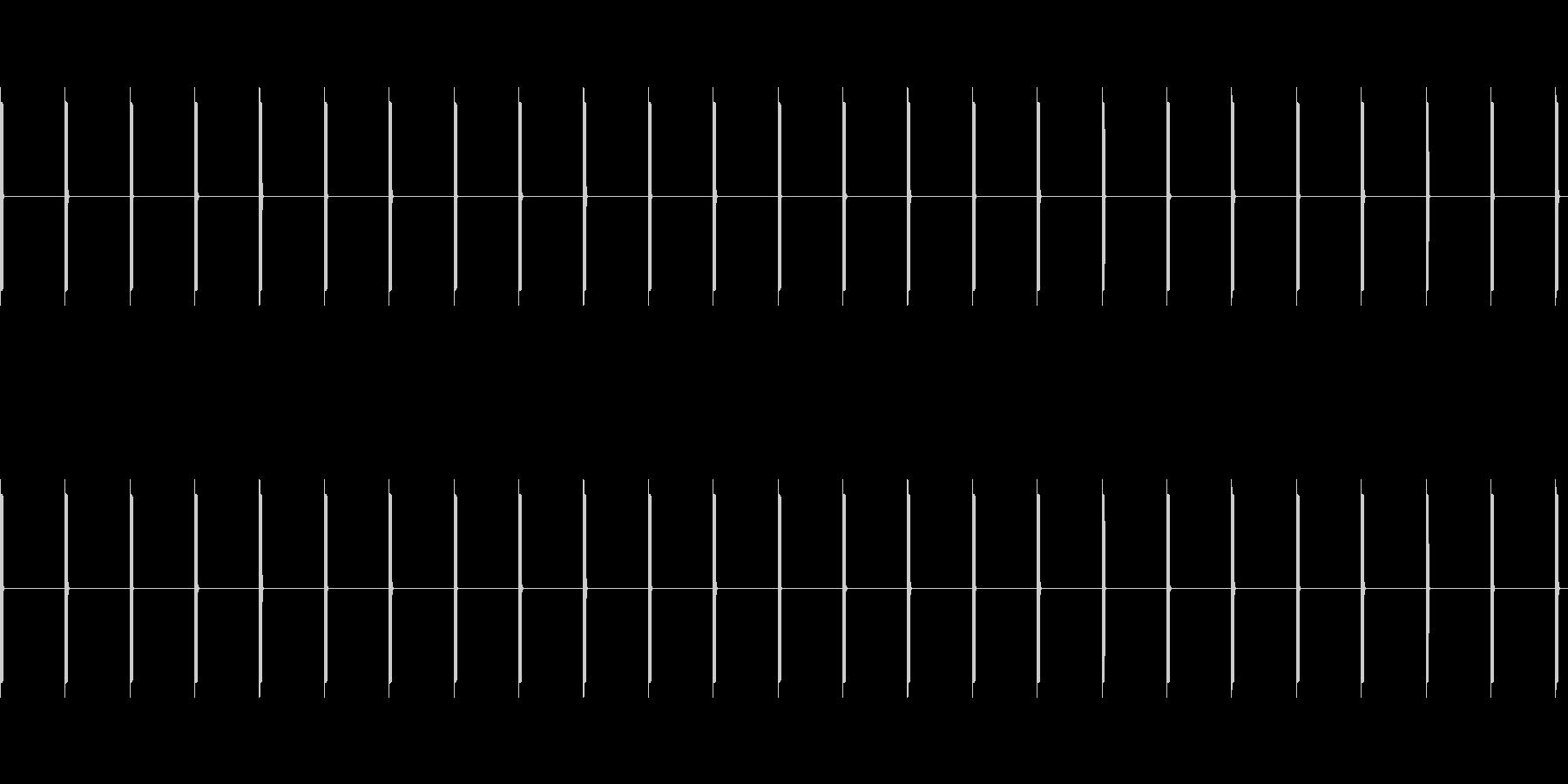 心臓モニター:単一の電子ビープ音ビ...の未再生の波形