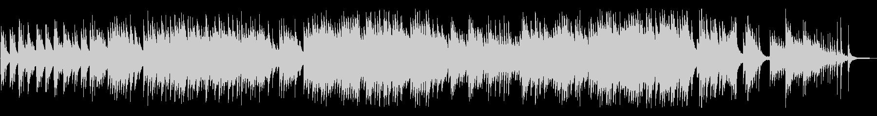 叙情的でノスタルジックなピアノBGMの未再生の波形