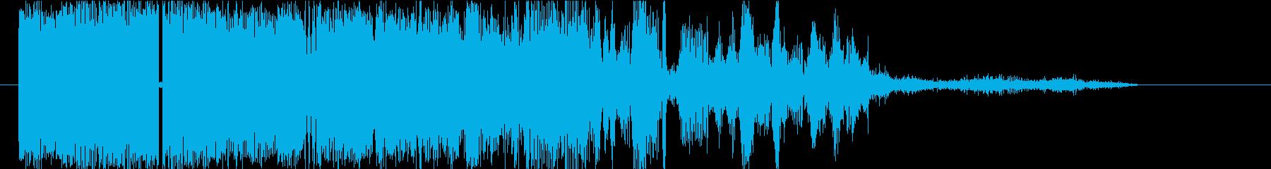 わいせつなものの再生済みの波形