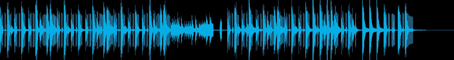 スパイシーなラテンCMの再生済みの波形