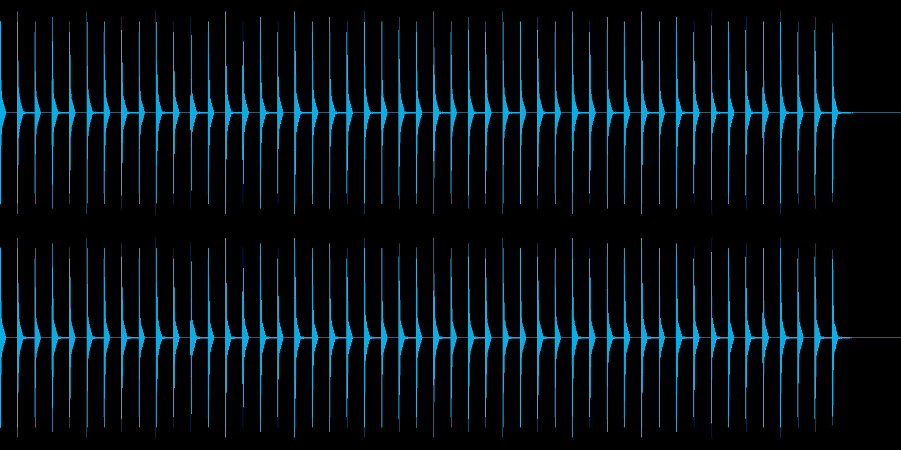 考え中(ピコピコ音 20秒)の再生済みの波形