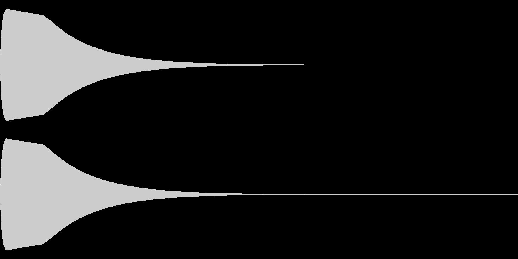 ピュウイーンの未再生の波形