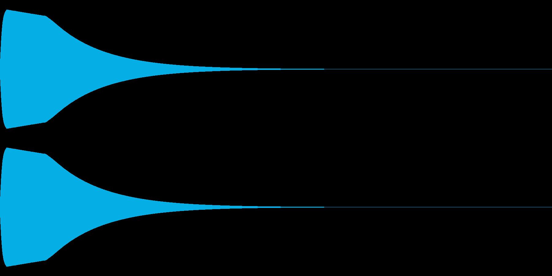 ピュウイーンの再生済みの波形