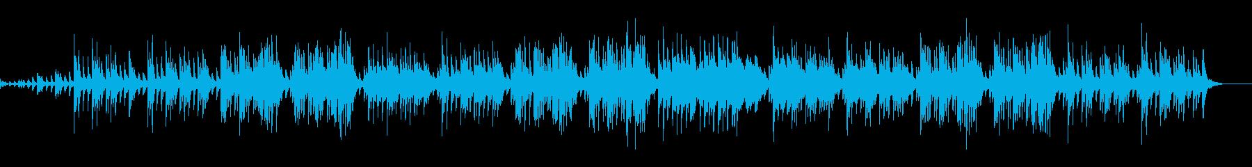 純日本的な伝統的音楽の再生済みの波形