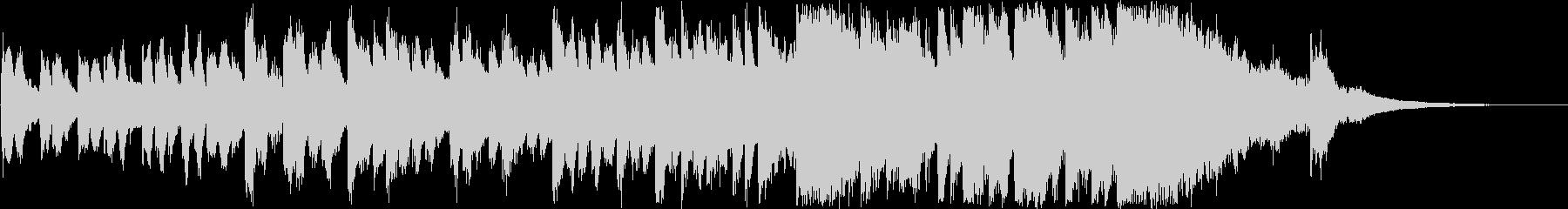 明るい・前向きなオーケストラ(30秒)の未再生の波形