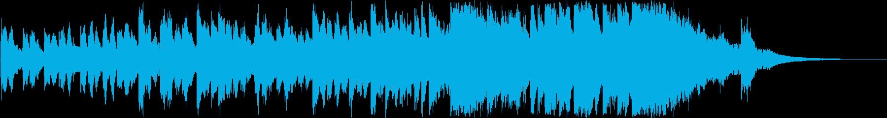 明るい・前向きなオーケストラ(30秒)の再生済みの波形