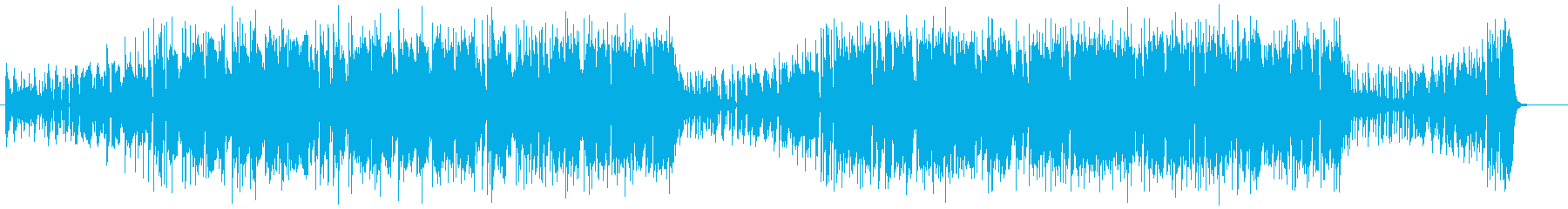 EDM仕立てのラテンサウンドの再生済みの波形