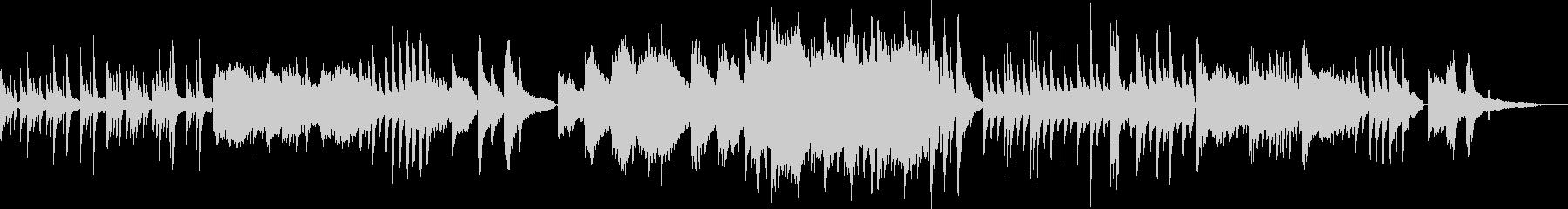 リラックス/オリエンタルなピアノバラードの未再生の波形
