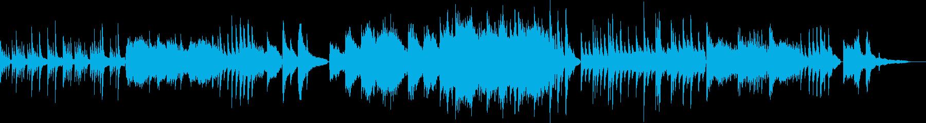 リラックス/オリエンタルなピアノバラードの再生済みの波形