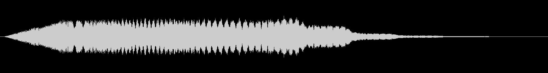 ヒュイイイイン_コミカルな通過音の未再生の波形