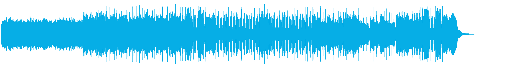 オープニング スリル 闘志 ドライブ感 の再生済みの波形